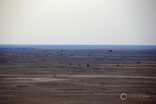 Qatar has no rivers, no lakes, and underground sources of water that are either depleted or on the way to being so.