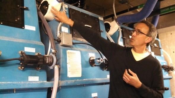 Bullitt Center Seattle composting toilet office building water