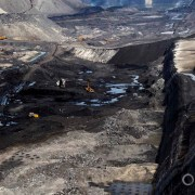 Gevra open-pit mine Coal India Southeastern Coalfields Ltd. Chhattisgarh coalbelt mining miner industry water food energy choke point circle of blue wilson center aubrey ann parker