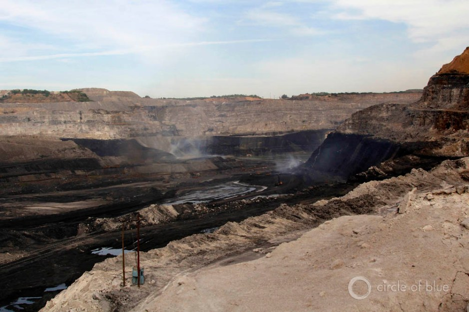 Gevra open-pit Coal India Chhattisgarh Southeastern Coalfields Ltd. coalbelt water food energy choke point circle of blue wilson center aubrey ann parker