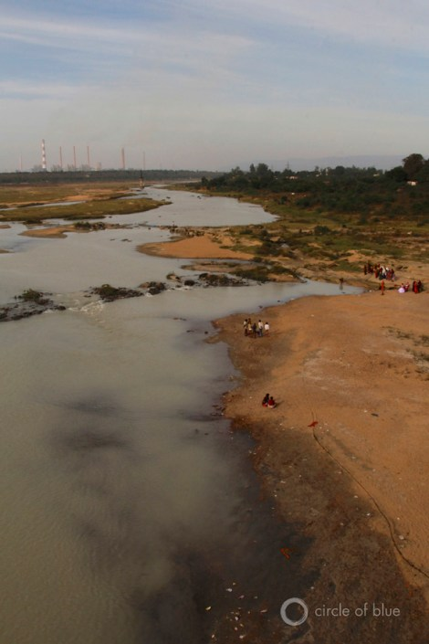 Mahanadi River India Chhattisgarh energy water shortage drought rainfall coal power plant river choke point circle of blue wilson center aubrey ann parker