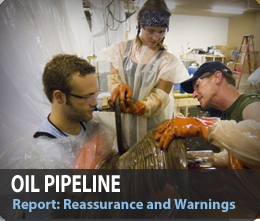 report oil pipeline teaser