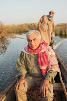 Goldman Environmental Prize 2013 Nature Iraq marsh arab madan wetland Mesopotamia Azzam Alwash canoe kayak grassroots environment environmental hero tigris euphrates river