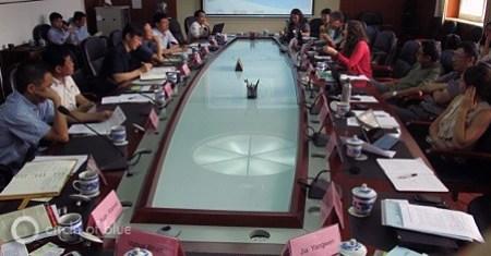 China water energy economic growth Beijing WET