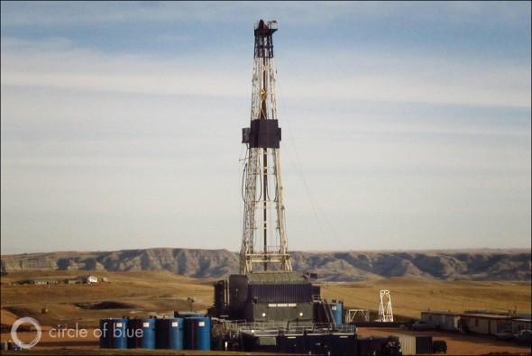 Shale development in North Dakota