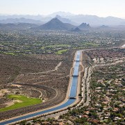 Central Arizona Project irrigation groundwater Colorado River farmland fallowing Arizona Yuma Mesa