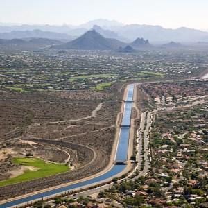 Central Arizona Project irrigation groundwater Colorado River farmland fallowing Arizona Yuma Mesa