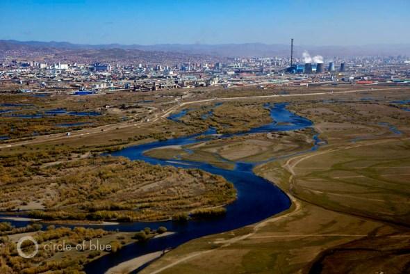 Mongolia, Ulaanbataar, mining, South Gobi desert Mongolia Khanbogd Oyu Tolgoi Rio Tinto copper mine gold water food energy choke point circle of blue wilson center J. Carl Ganter