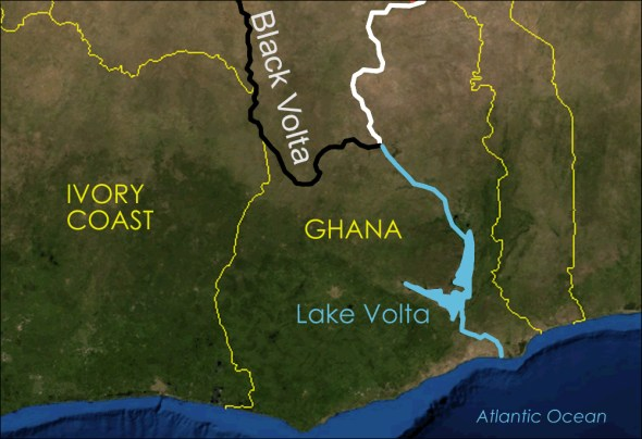 Black Volta River WWF World Wide Fund for Nature Green Cross transboundary rivers United Nations treaty
