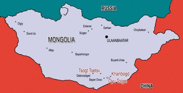 Mongolia Khanbogd Oyu Tolgoi Tsogt Tsetsii