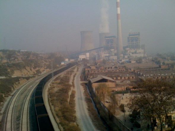 China coal Xian energy climate change