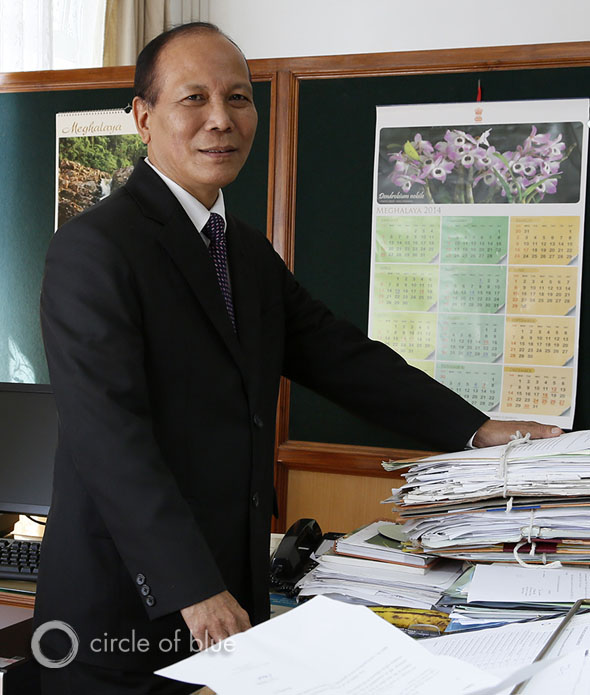 "Tony Marak, the principal chief conservator for the Meghalaya Department of Forests and Environment, a state land manager and regulatory agency, was ordered not to oversee the state's lawless coal fields. ""We have been directed by the leaders of this state government not to look at any of this,"" he said. ""They see it as a matter of survival. They tell us, 'Don't touch this.'"""