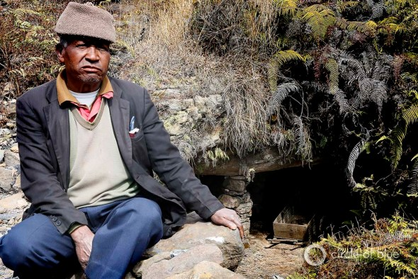 An active rathole mine south of Shillong and overseen by a manager who worked in it as a young man 40 years ago.