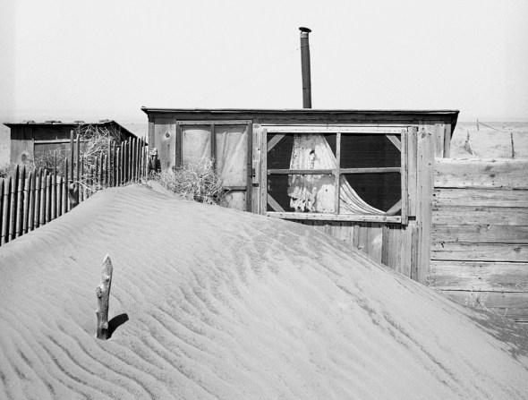 Oklahoma Dust Bowl dust storm Cimarron County Great Plains farming agriculture