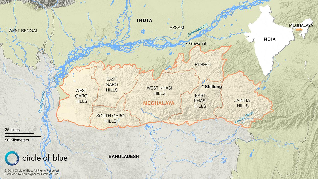 India's Treacherous Coal Mines in Meghalaya - Circle of Blue