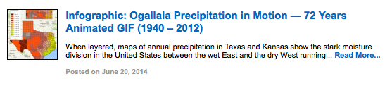 Infographic: Ogallala Precipitation in Motion — 72 Years Animated GIF (1940 – 2012)