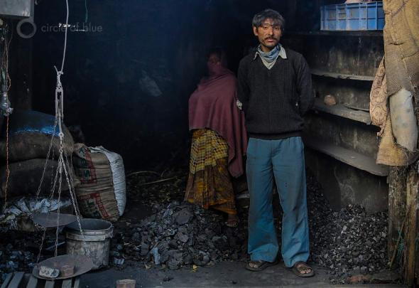 harcoal is an important source of fuel for heating and cooking in Megahalaya, in northeast India, and one of the factors in the state's spreading deforestation. This charcoal dealer sells from a small shop in Shillong, the state capital.