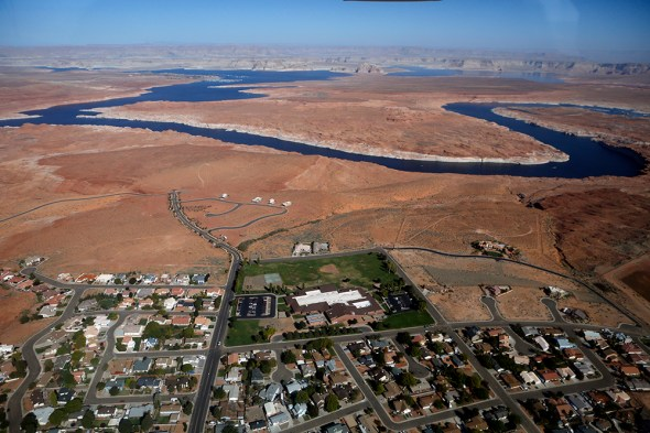Colorado River Lake Powell water conservation Arizona Utah American Southwest