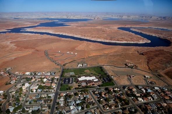 Colorado River Lake Powell water conservation Arizona Utah American Southwest