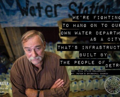 Reverend Bill Wylie-Kellerman St. Peter's Episcopal Church Detroit Water Shut off The People's Water Board
