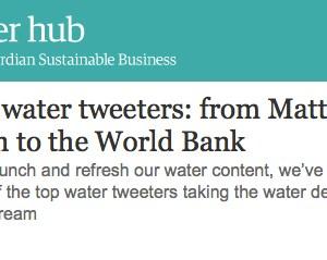 Circle of Blue Guardian Sustainable Business Twitter Water Tweeters #Waternews