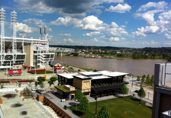 Cincinnati waterfront Ohio River Valley economic growth