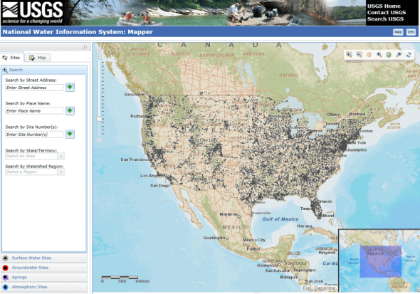 U.S. Geological Survey Open Water Data Intiative