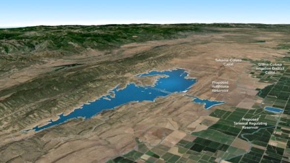 California water bond water storage reservoirs groundwater recharge