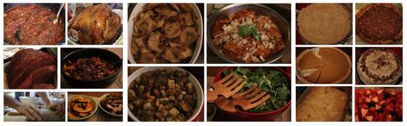 Thanksgiving turkey feast global food grain supply Aubrey Ann parker circle of Blue