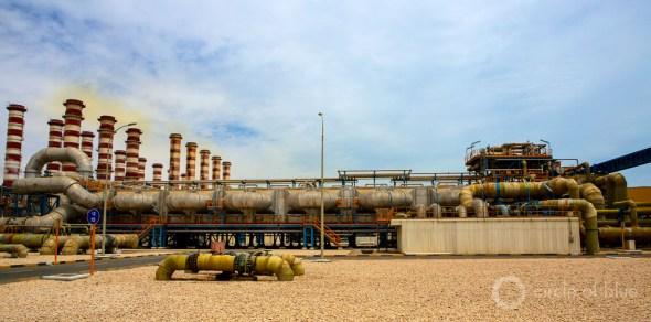 Doha Qatar desalination water supply World Economic Forum global risks report J. Carl Ganter Circle of Blue