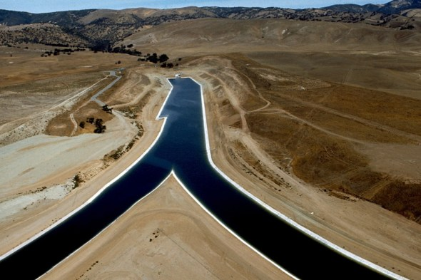 California Aqueduct water infrastructure California Los Angeles