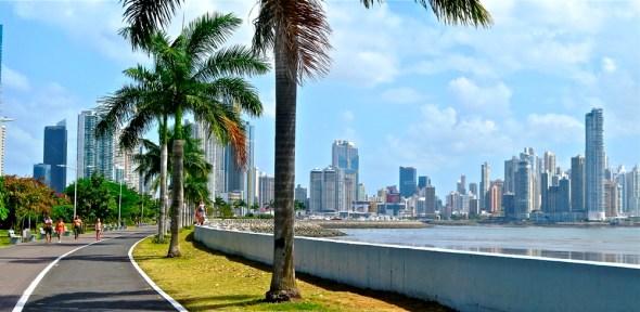 Panama Panama City urban development Central America
