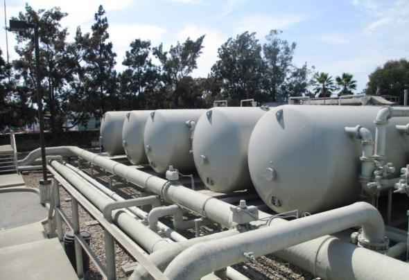 Santa Barbara California drought Charles Meyer Desalination Plant water supply