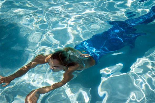 California pool residential water use drought