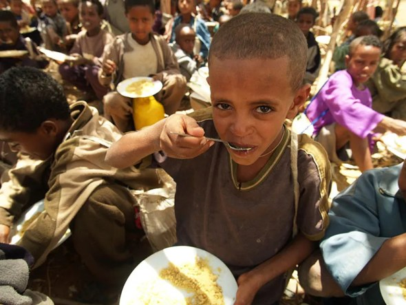 Ethiopia Food security Food insecurity world hunger hungry children starvation starving children UN FAO Food Insecurity Report 2015 world Africa Asia water sanitation WASH nutrition Pattie Gower DFATD-MAECD