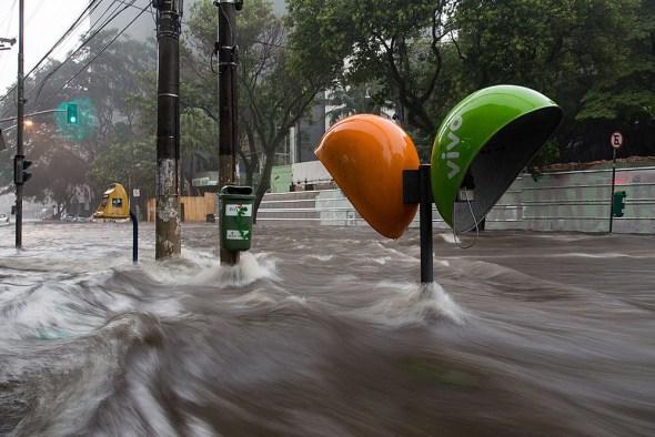 Sao Paulo flood Brazil