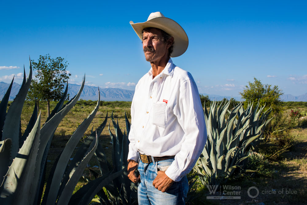 Alfonso Gonzalez cattle farmer Cuatro Ciénegas Mexico farm farming ranch rancher Janet Jarman Circle of Blue choke point