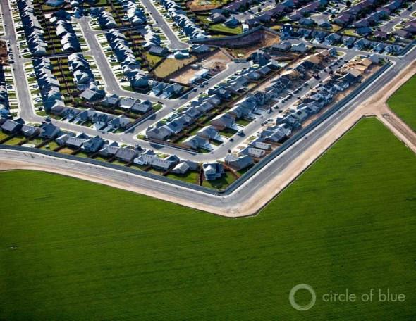 California Central Valley urban landscape city field Carl Ganter Circle of Blue