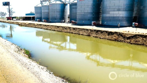 California drought irrigation farming water storage Sites Reservoir Tehama-Colusa Canal rice storage bins