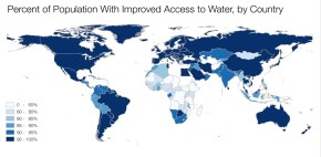 Kaye LaFond drinking water access world map population 2015 Millennium Development Goal improved drinking water Sustainable Development Goals Q&A Circle of Blue