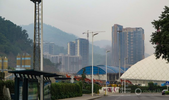 China energy coal economy Shenzhen Guangzhou CO2 carbon emissions coal-fired power plants