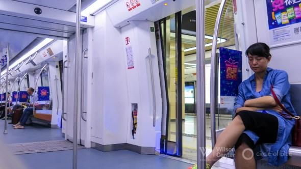 China Shenzhen economic development metro subway system Guangdong Province