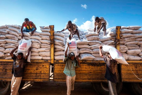 Ethiopia food security hunger drought El Nino 2015 food aid