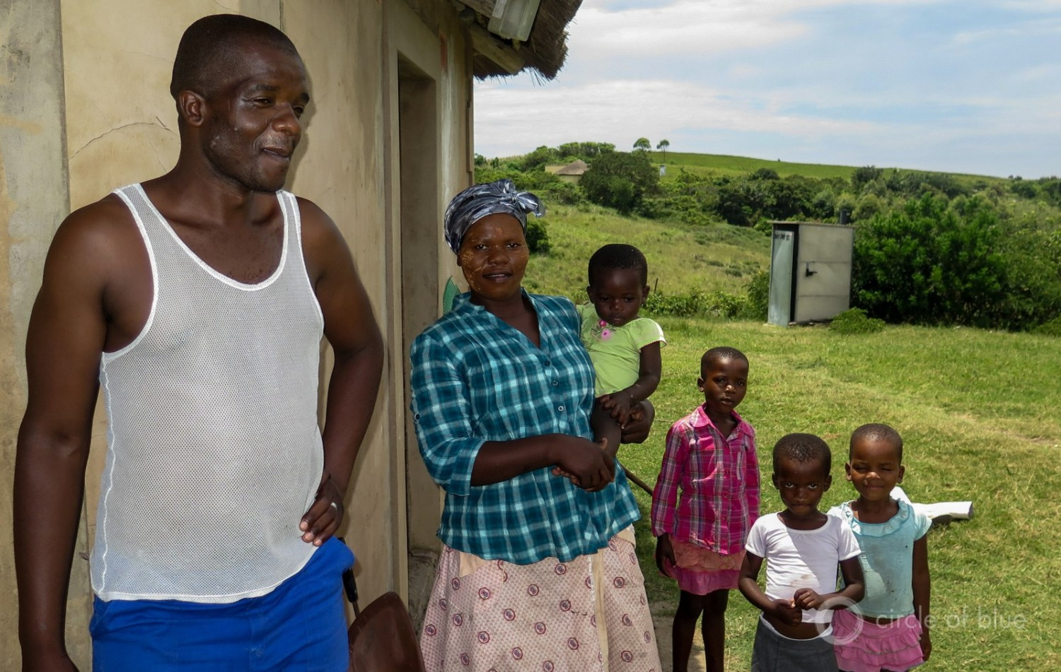 """This is our land,"" said Zwelidumile Yalo, a farmer who lives with his wife and four small children close to the proposed boundary of the new mine he loathes. ""It will not be taken away from us."