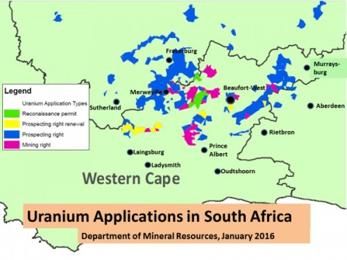 Map courtesy South Africa Department of Mineral Resources