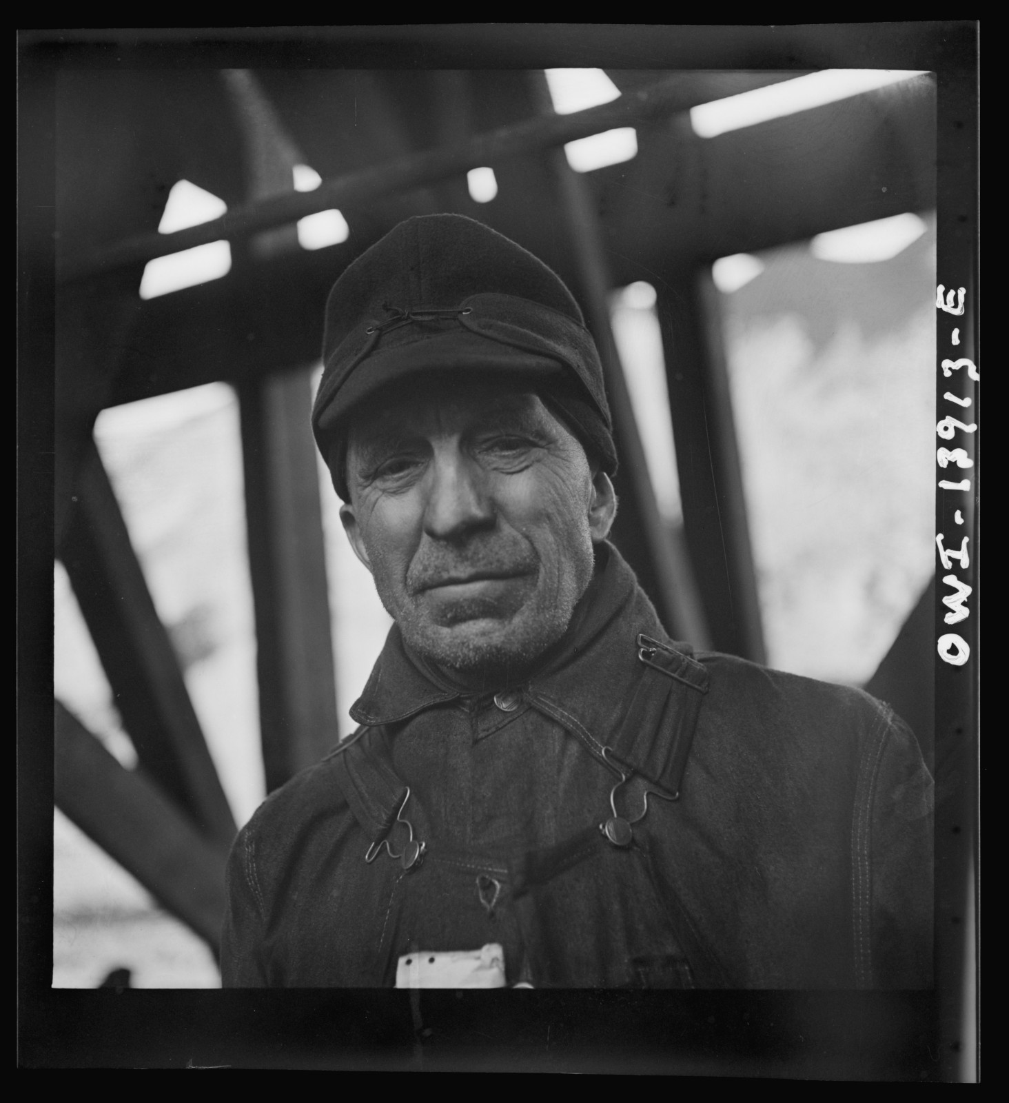 A worker at the Fourteenth Street coal dock of the Milwaukee Western Fuel Company in December, 1942.  Photo Credit: Jack Delano / Library of Congress, Prints & Photographs Division, FSA/OWI Collection [LC-DIG-fsa-8d24348]