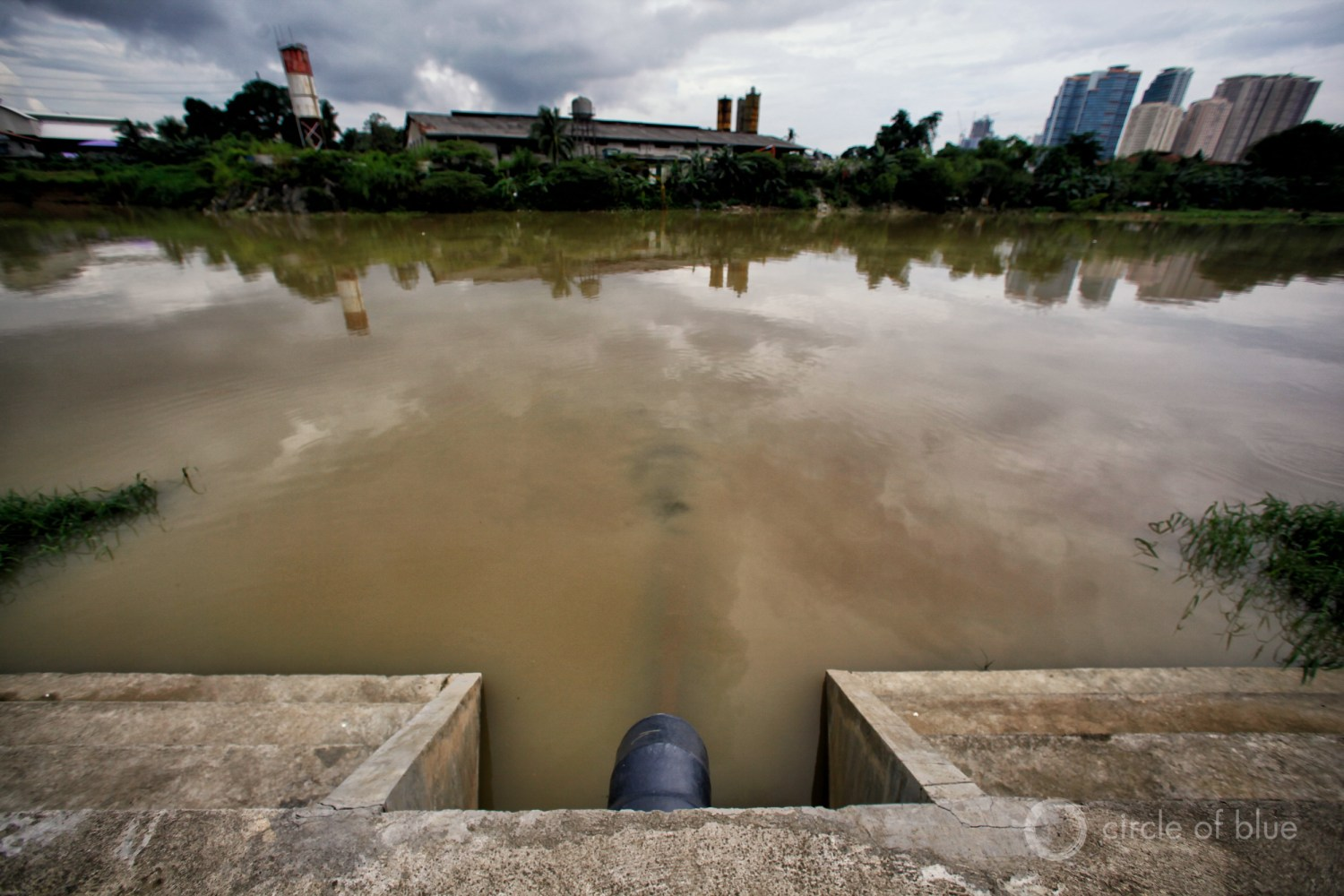 The Pasig River flows through Manila, capital of the Philippines. Before being named the country's environment secretary, Gina Lopez led a campaign to clean up the Pasig.