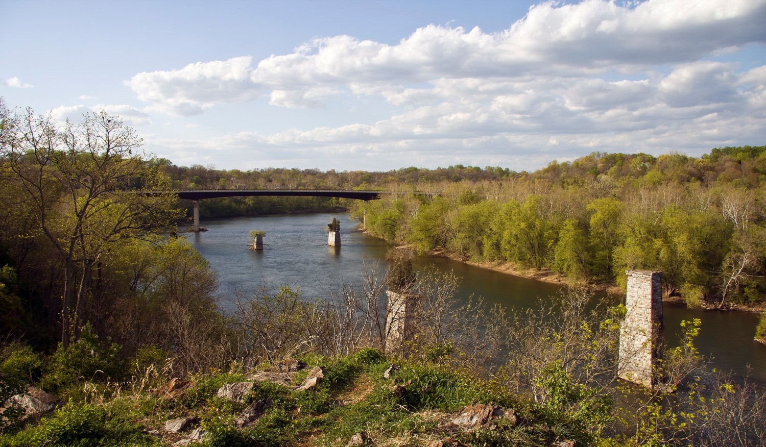 The Potomac River near Shepherdstown, West Virginia. Photo via Wikimedia Commons
