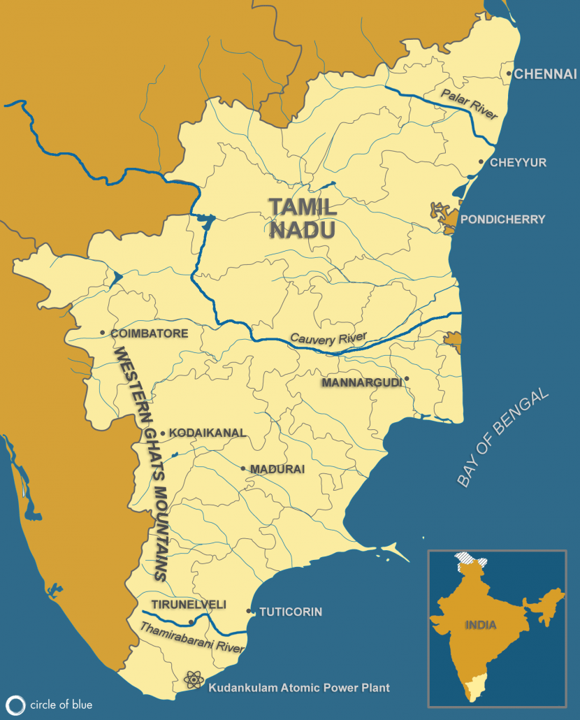 Tamil Nadu Map (all stories)