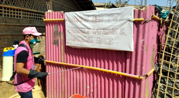 BRAC WASH 2 Bangladesh 2020 Naim communal disinfection-Edit